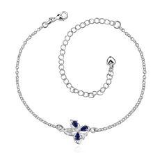 Wholesale New Fashion Women Fine Jewelry Woman Zircon Anklets Bracelet Female Foot Chain YMW-ZD077