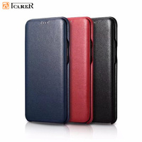 iCarer Luxury S9 Leather Case For Samsung Galaxy S9 Case S9 Plus Leather Flip Cover For Samsung S9 Case S9plus Cover Capa Para