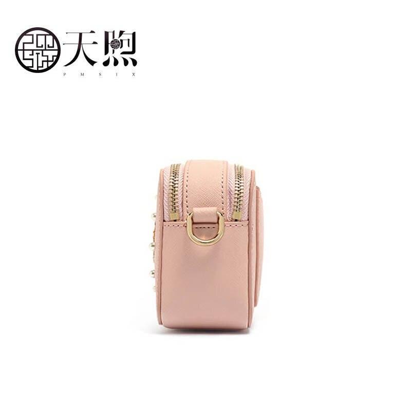 2019 De Pink Célèbre Femmes Petit Luxe Broderie Nouveau Cuir Mode Bandoulière Main Pmsix À En Sacs Sac Mini Marque 1KJlFc