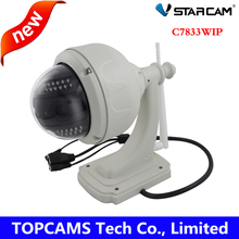 Vstarcam C7833WIP PT P2P Plug and Play Al Aire Libre Wireless/WiFi 1MP HD 720 P Cámara de Seguridad IP con Pan/Tilt IR Cut Tarjeta SD cámara