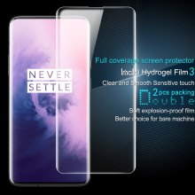 OnePlus 7 Pro Screen Protector IMAK Hydrogel III Front&Back 0.15MM Soft TPU Protective Film For OnePlus 7 Not Glass