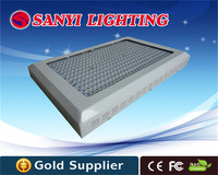 Full Spectrum LED Grow Lights 1000W R+B+W+O+UV+IR 6 bands 333x3W for indoor greenhouse