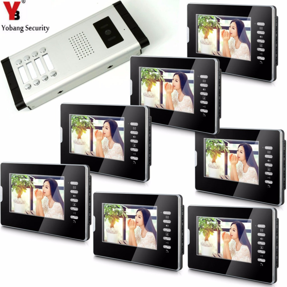 YobangSecurity Video Door Intercom 7