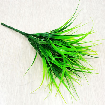 1PC artificial plastic 7 Branches grass plant Best Children's Lighting & Home Decor Online Store