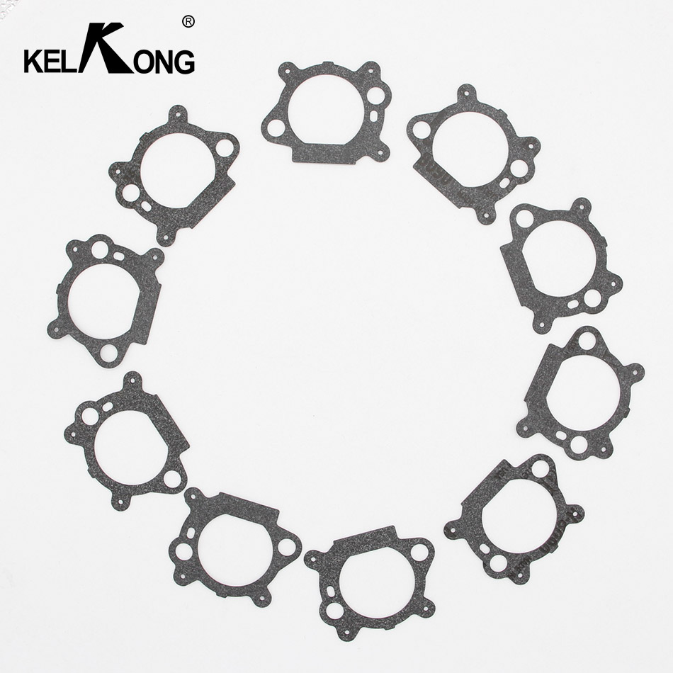 KELKONG 10Pcs Air Cleaner Mount Gaskets Replace For Briggs & Stratton 795629 272653 272653S Carburetor Chainsaw|carburetor replacement|replacement carburetorgasket for carburetor - AliExpress
