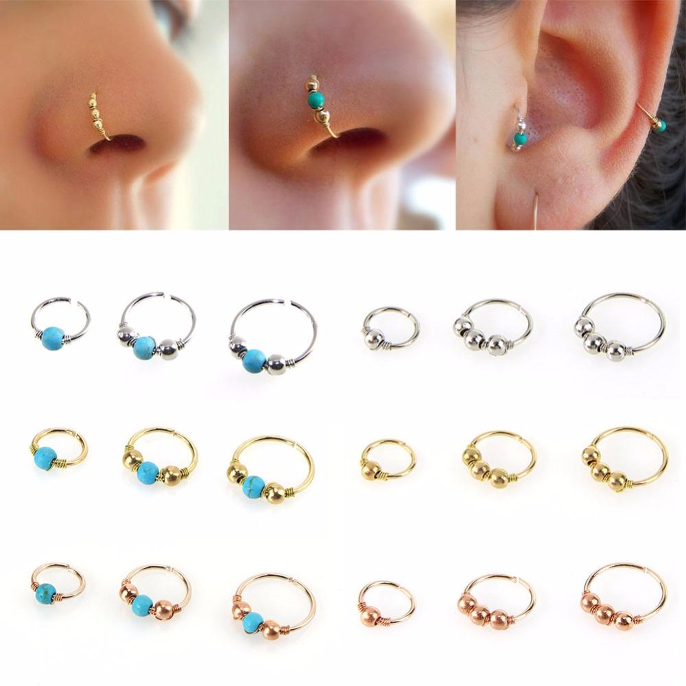 HTB1vUQ1SXXXXXXIaFXXq6xXFXXXq Nose Ring Nostril Hoop Body Piercing