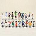 20 unids/set Dragon Ball Z GT Figuras de Acción Loca Fiesta 10 CM Celular/Freezer/Goku Dragonball Figuras de PVC mejor Regalo
