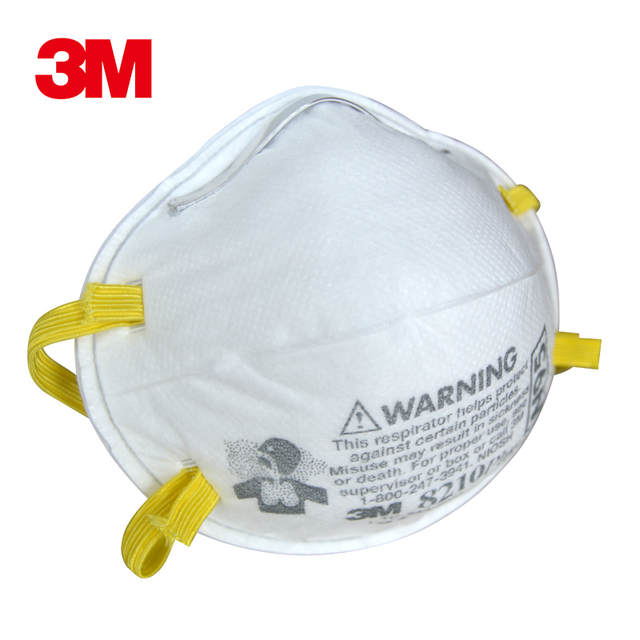 N95 Pm2 3m Respirator Approval 8210 Anti Mask 5 Dust
