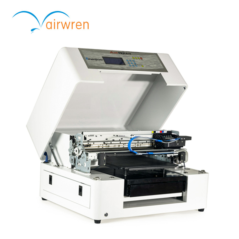 T shirt design quick delivery - Fast Delivery Direct Garment Printer A3 Digital Flatbed Printer For T Shirt China Mainland