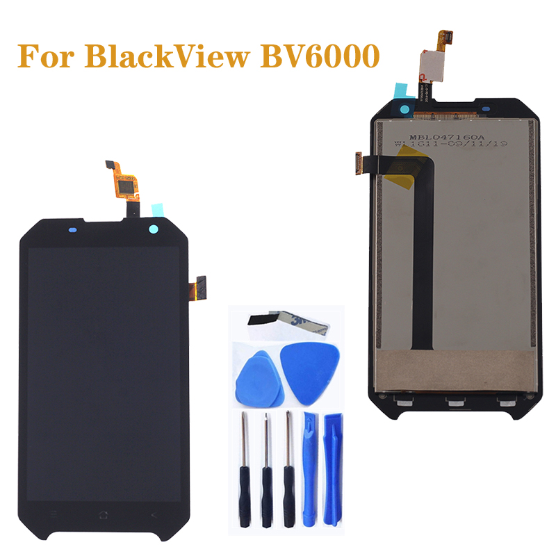 "4.7"" Original for Blackview BV6000 LCD +Touch Screen Glass Component Digitizer assembly for Blackview BV 6000 Display Repair Kit-in Mobile Phone LCD Screens from Cellphones & Telecommunications"