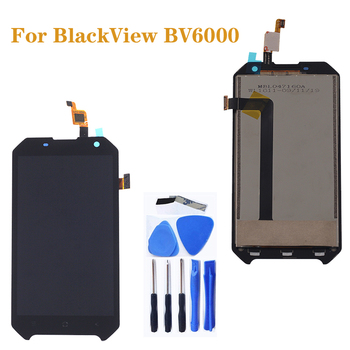 цена на 4.7 Original for Blackview BV6000 LCD +Touch Screen Glass Component Digitizer assembly for Blackview BV 6000 Display Repair Kit