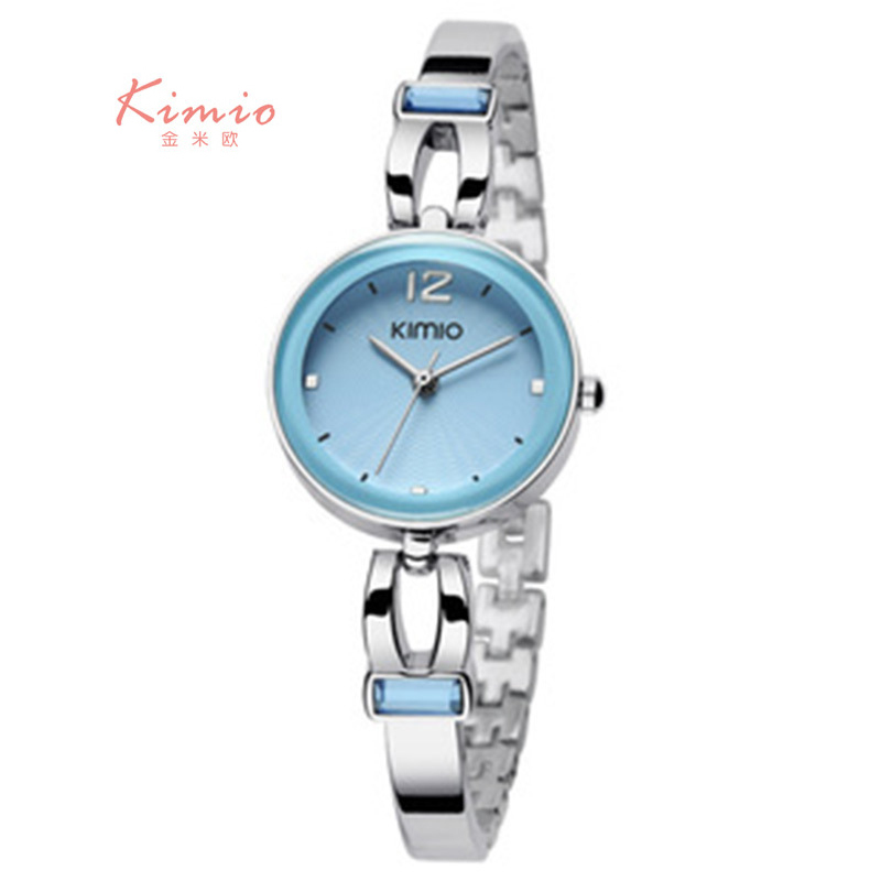 KIMIO Ladies Multicolor Small Dial Watches Women Fashion Watch 2017 Stylish Women s Watches Elegant Clock