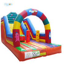 Outdoor new custom design inflatable bouncer water slide for kids