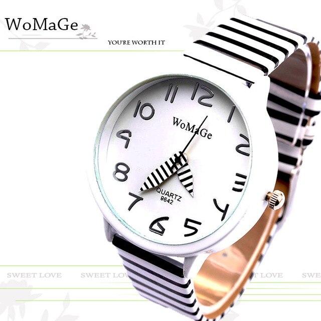 Zegarek damski WoMaGe bransoleta w paski różne kolory
