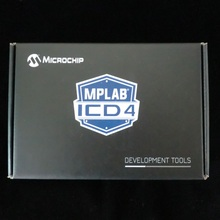 1 pces x dv164045 debuggers de ferragem mplab icd 4 in circuit depurador com placa de interface de teste icd icd4