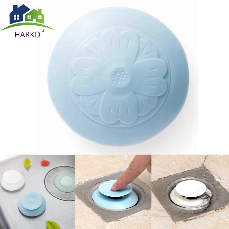 Rubber Circle Silicone Sink Strainer Basin Water Stopper
