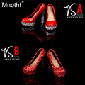 VStoys 1/6 Scale Women's High Heel Shoes 2 Style Crystal Shoes Fit Phicen/Hot stuff /CG/OB Action Figure Doll Toys