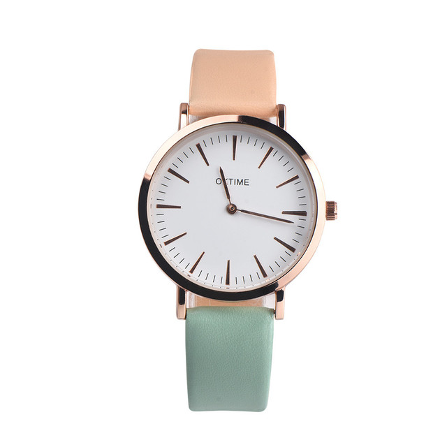 2018 Top Brand Women Bracelet Watch Fashion Female Retro Design Leather Band Ana