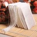 100 шт. ароматизированные чайные пакетики со стрином для пищевых продуктов  нетканые пустые пакетики для чая  фильтровальная бумага для трав...