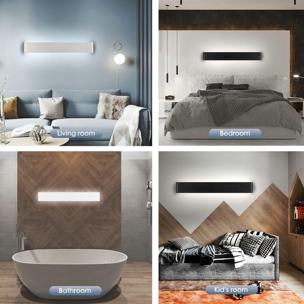 Modern LED Wall Lamp Minimalist Indoor Light Fixture Wall Sconces Stair 6W 10W Bedroom Bedside Living Room Home Hallway Lighting 6