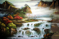 2016 Hot Sale Adult 1000 Pieces Jigsaw Landscape Cartoon Puzzle Children Educational Ravensburger Puzzle 1000