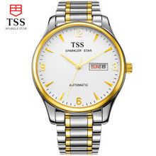TSS relogio masculino Luxury Brand Аналоговый спорт Наручные Часы Отображения Даты мужская Механические Часы Бизнес-Часы Мужские Часы