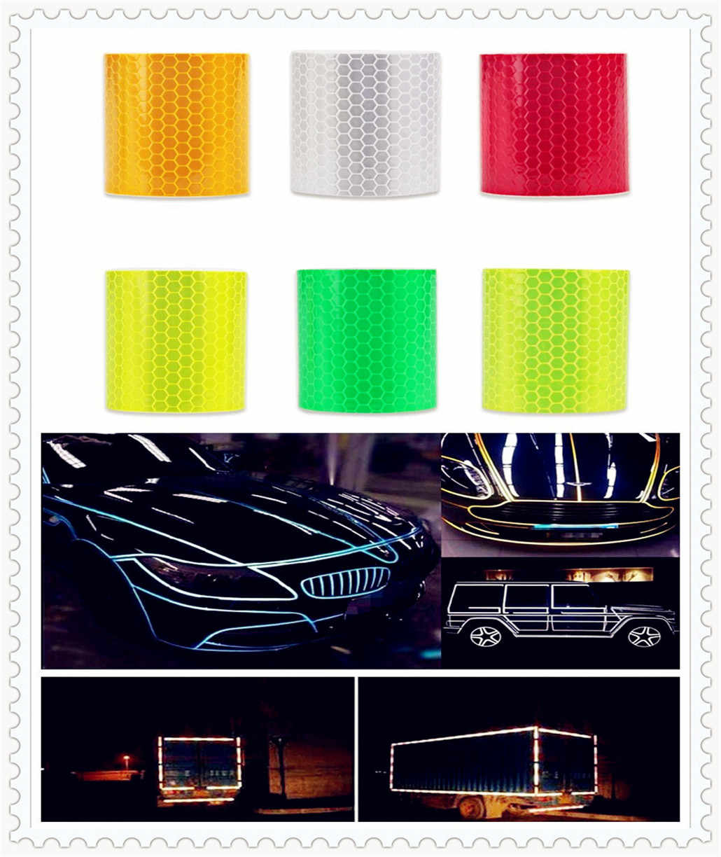Auto Accessoires Reflecterende Sticker Decal Waarschuwing Tape Film voor Ford SVT Reflex Freestar F150 Crown BF 4-Trac
