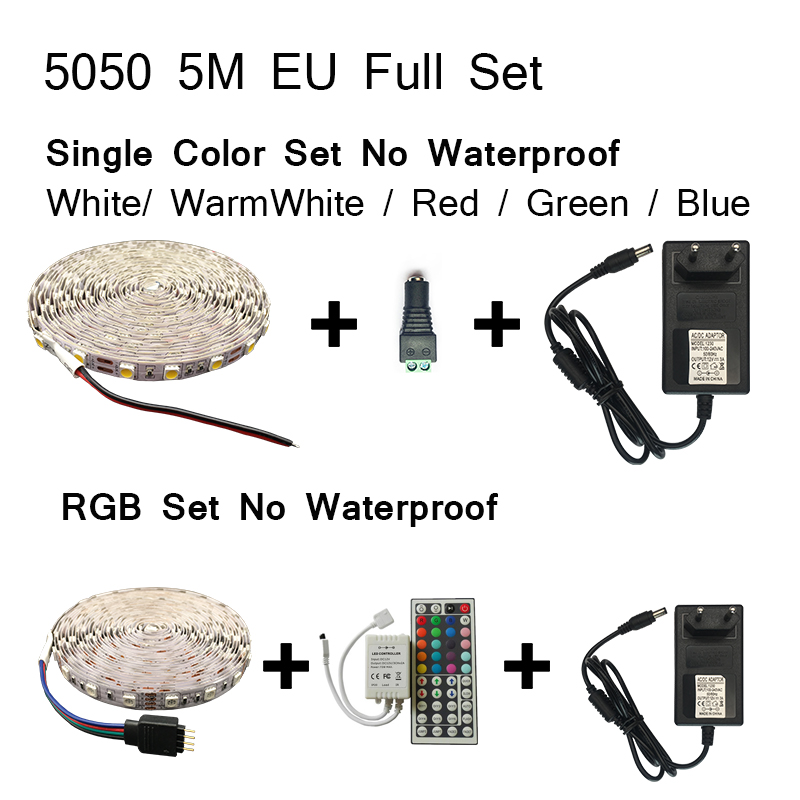 5050 5M Full set No Waterproof