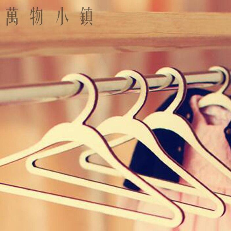 5X Clothes Hanger Wood Furniture Coat Hanger for 1//3 1//4 1//6 1//8 uncle BJD Doll