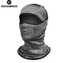 ROCKBROS Outdoor Sport Ice Headgear Cap Fishing Cycling Headband Face Mask  Riding Bicycle Bike Bandana Sports Hat
