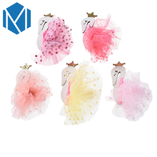M MISM Children Little Swan Hair Clip Perfect Quality Barrettes Swan Hairpins Fashion Hair Accessories for Kids Girls Hairgrip(China)