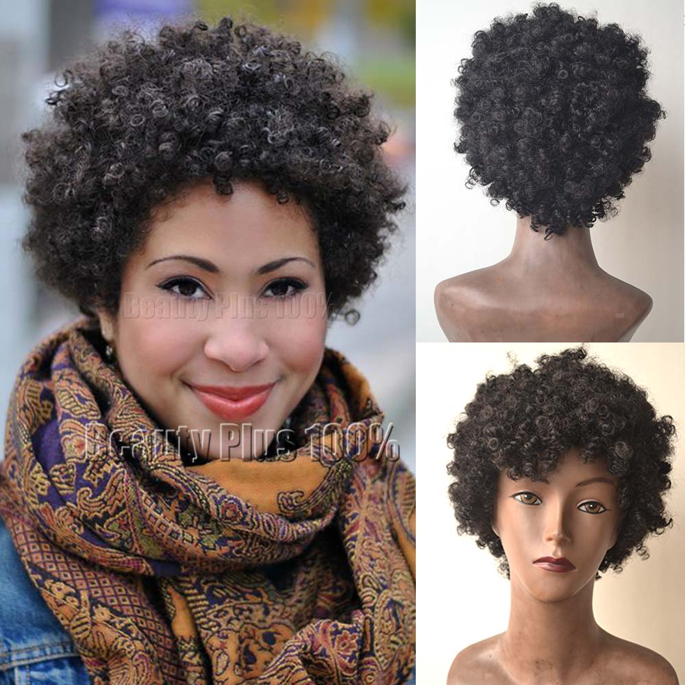Kinky Curly Synthetic Wigs Heat Resistant hair afro curly wig Wig womens Perucas Pelucas cosplay