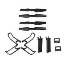 For Eachine E58 RC Quadcopter Spare Parts Propeller Blades Landing Gear Propeller Guard Protection Cover Set walkera qr x350 premium rc quadcopter spare part low skid landing