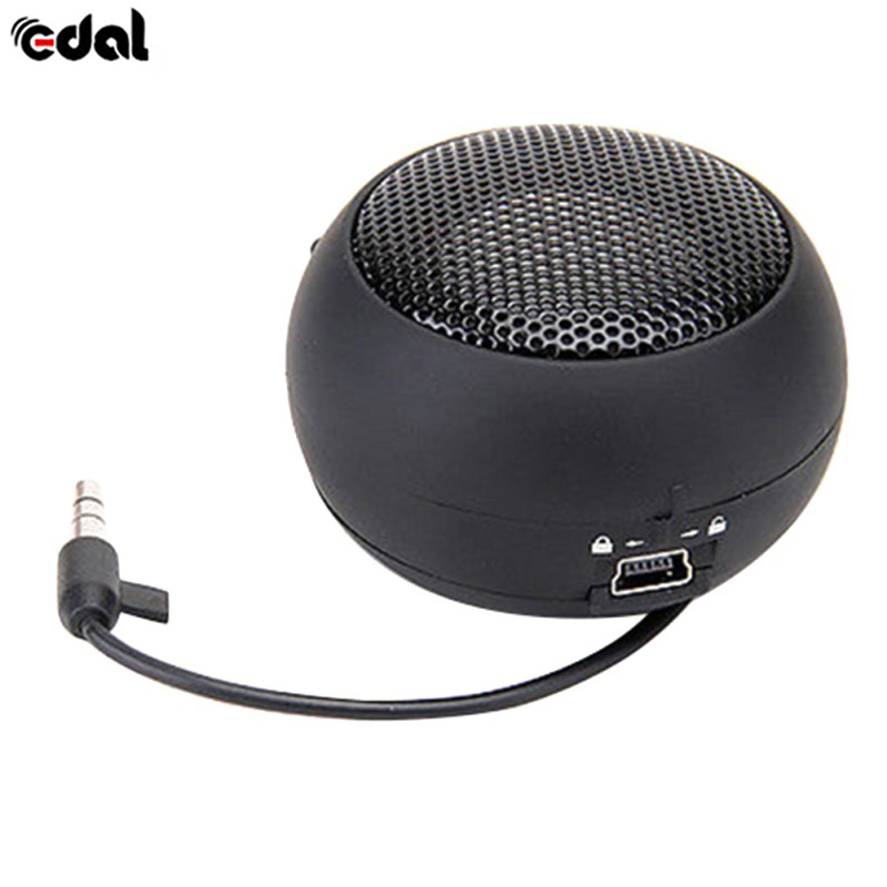 EDAL Mini Portable Speaker untuk Telefon Sejagat Smartphones Laptop Tablet PC Music Player