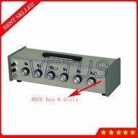 ZX97E резистор десятилетие коробка с точностью DC мосты сопротивление десятилетие коробка 1 ~ 1111110 Megaohm диапазон