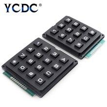 цена на TSLEEN 3x4 4x4 Matrix Array 12 16 Keys Switch Keypad Keyboard Program Signal Control Module for Arduino