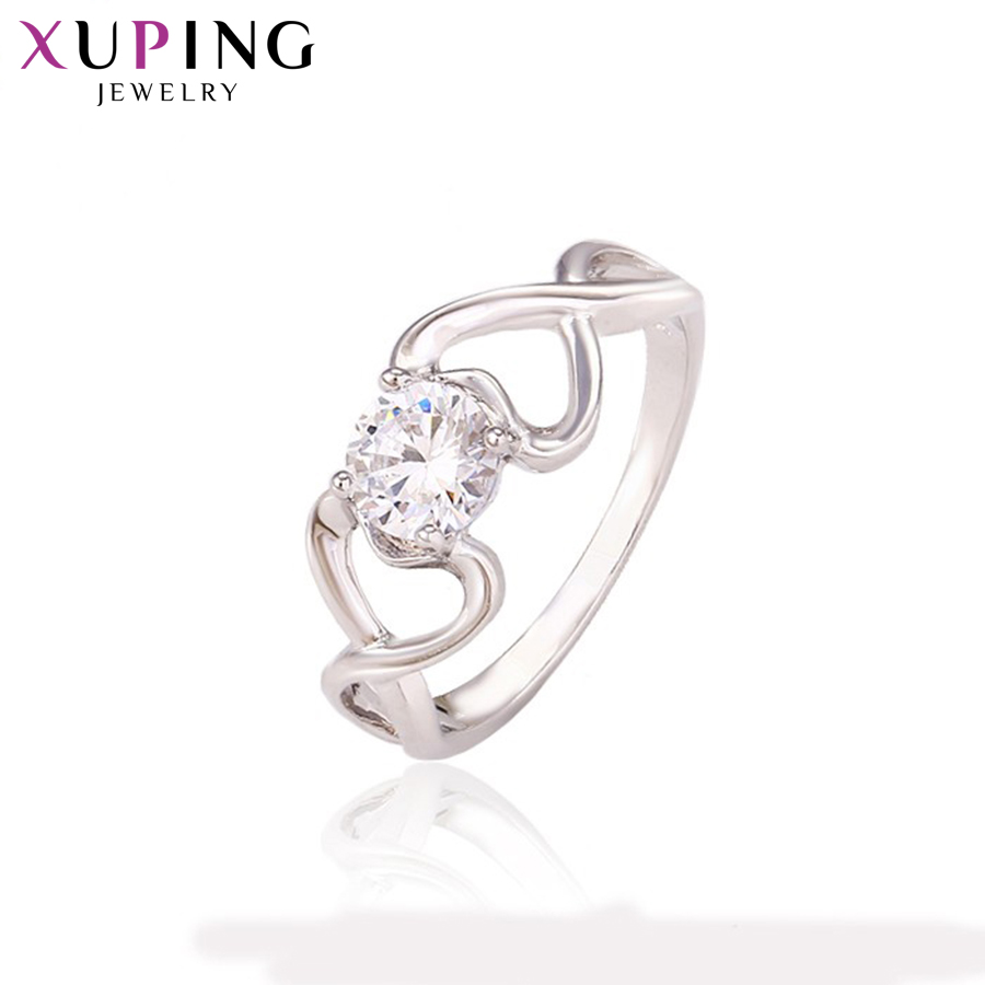 11,11 сделок Xuping Мода Кольцо Новый очаровательный обручальные кольца для Для женщин подарок ювелирный Новый личность подарок День Святого Ва...