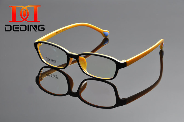 Deding горячая распродажа привлекательный удобная безопасности материала TR90 рецепту очки по уходу за детьми мальчики студенты Eyegasses DD1048