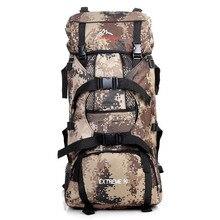 45L camuflaje táctico mochila mujeres hombres bolsas de viaje de senderismo impermeable exterior militar que acampa tienda Online