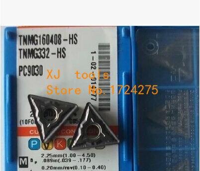 Free Shipping 10pcs TNMG160408 HS PC9030 Turning Inserts for Lathe Holder WTJNR MTJNR MTENN MTQNR for