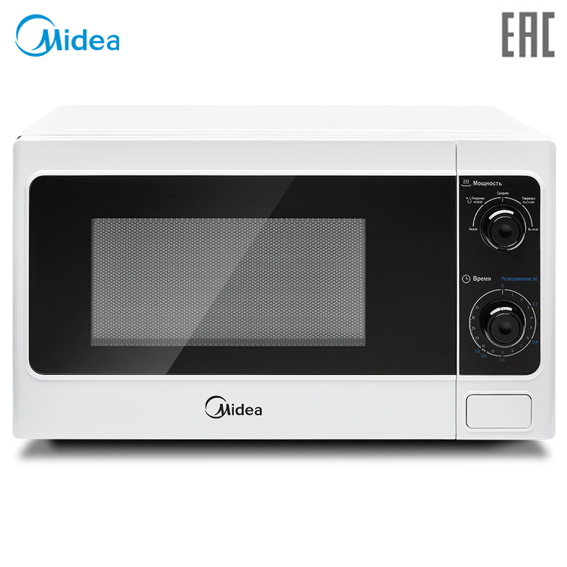 Microwave Ovens solo Midea MM720CAA, 20 l, mechanical control, 5 power levels timer for 35 min, defrost function microwave oven midea mm720caa