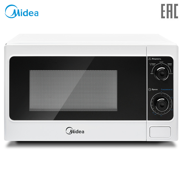 Микроволновая печь соло Midea MM720CAA, 20 л. [Официальная гарантия 1 год, Доставка от 2 дней]