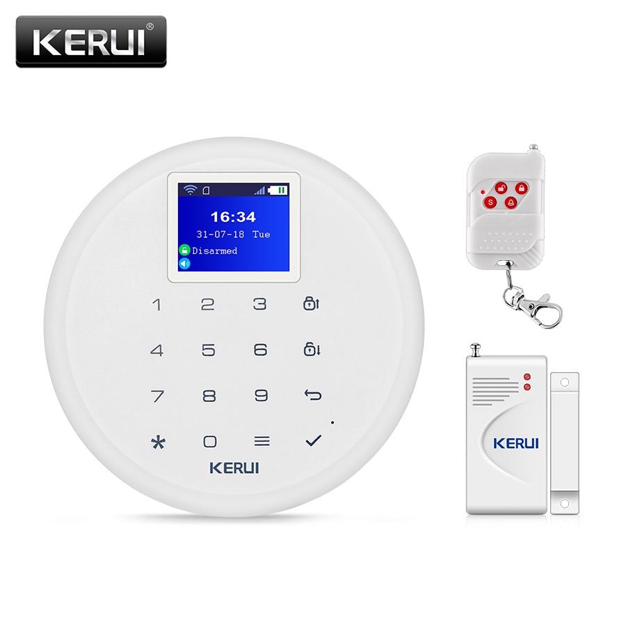 KERUI W17 IOS Android APP Remote Control Alarm System Wireless WIFI SIM GSM Home Burglar Security