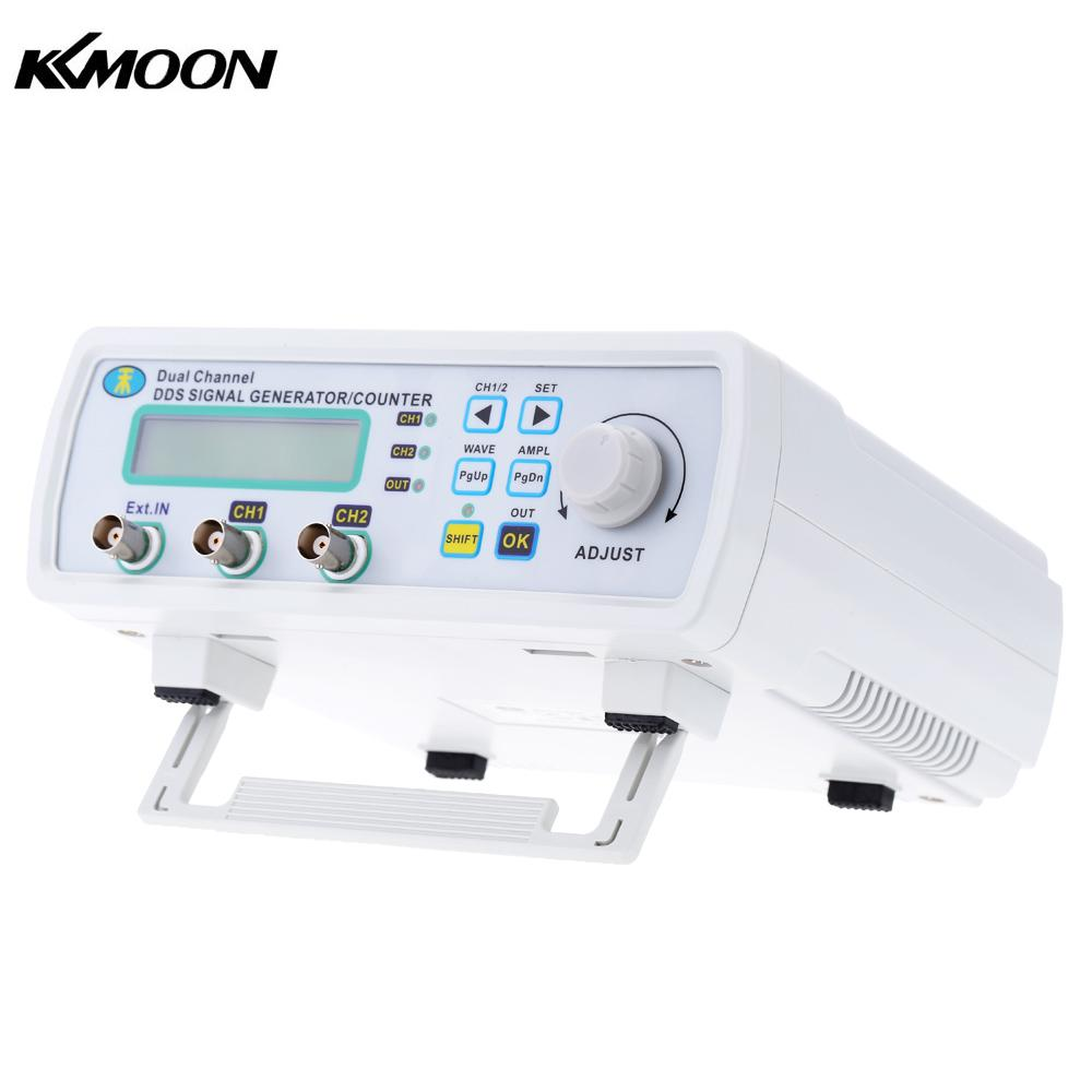 High Precision Digital DDS Dual-channel Signal Source Generator Arbitrary Waveform Frequency Meter 200MSa/s 12MHz mhs 5212p power high precision digital dual channel dds signal generator arbitrary waveform generator 6mhz amplifier 80khz
