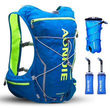 AONIJIE 10L Outdoor Running Vest Bag Hydration Pack Harness Water Bladder Hiking Camping Marathon Race Sports