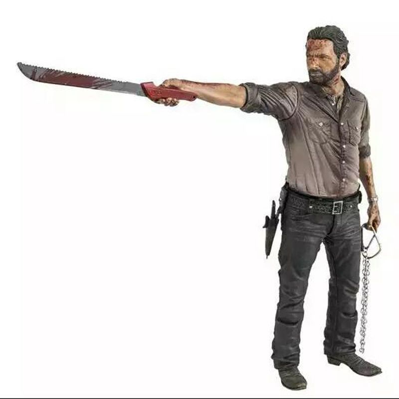 10 inch 25cm TV Series The Walking Dead Rick Grimes Bloodsoaked Limited Edition Toy Deluxe Action Figure Model Gift элтон джон elton john goodbye yellow brick road deluxe edition 2 cd