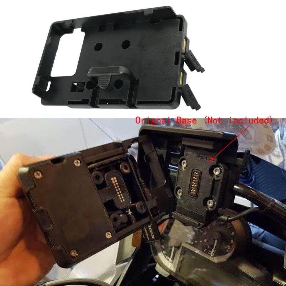 Mobile Phone Navigation Bracket USB Charging Holder For BMW R1200GS ADV Original For GARMIN Navigator Base BMW S1000XR 14-17