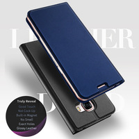 Leather Case For Samsung Galaxy A5 2017 Luxury Magnetic Stand Flip PU Case For Samsung Galaxy