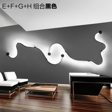 Home Decoration Living Room Modern Simple Ceiling Light Creative Personality Vintage Led Ceiling Lamp Bedroom free shipping