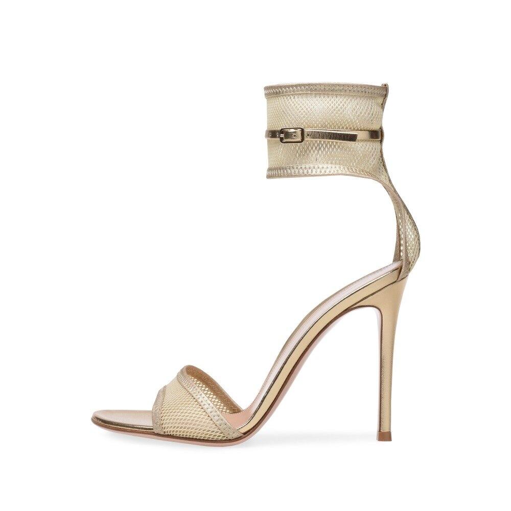fb2a37d4348 2018 Black Open Toe Cover Heel Back Zipper Closure Knee High Gladiator  Summer Boots Strap Design High Heel Punk Women ShoesUSD 113.99 pair